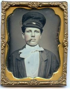 1/9th plate daguerreotype of a young dandy in Collectibles, Photographic Images, Vintage & Antique (Pre-1940), Daguerreotypes   eBay