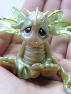 OOAK Handmade Polymer Clay Woodland Baby by Woodlandkreatures, $29.00
