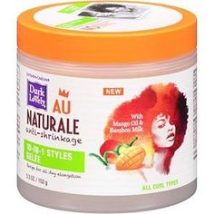 Ahora más baratos!! Dark And Lovely Au Naturale Anti Shrinkage  www.rizadoafroymas.es