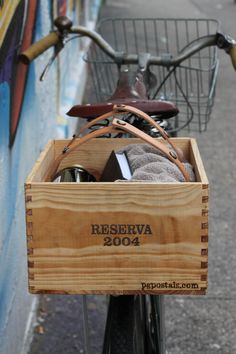 Wine Box Basket