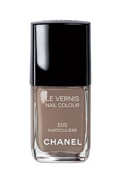 """CHANEL nail polish in """"Particuliere""""."""