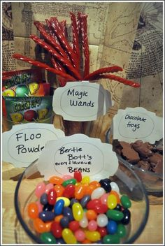 Great ideas for a Potter-themed party! I swear, if I can't make it to the Wizarding World of Harry Potter for my 21st birthday, I'm going to throw a Harry Potter party. No joke.