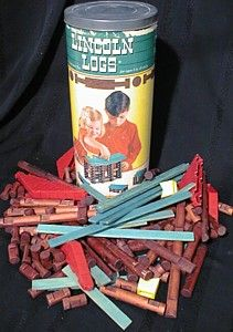 Frank Lloyd Wright's son invented Lincoln Logs