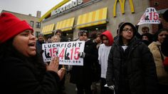 Organizers behind fast-food workers' calls for a $15 hourly wage have been pushing a bigger national strategy. They hope to galvanize low-wage workers under the banner of civil rights.