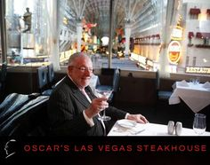 Oscar's Steakhouse At the Plaza Hotel & Casino is short trip from The Smith Center.