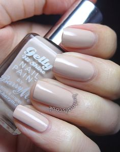Barry M Gelly Lychee --The perfect nude to make you feel that little bit glam without going over the top, great for a day at work or school.