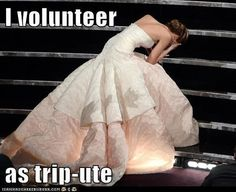 """JLaw's unfortunate struggle: 