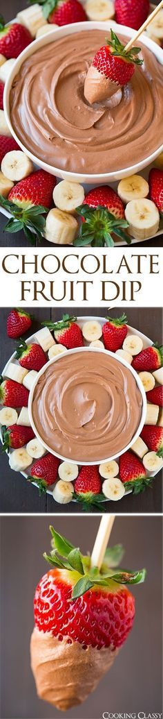 15 Colorful Fruit Dips | GleamItUp