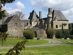 Domaine de Moulin Mer Le blog, la château de Rosmorduc sur le presqu'ile de Logonna-Daoulas en rade de Brest