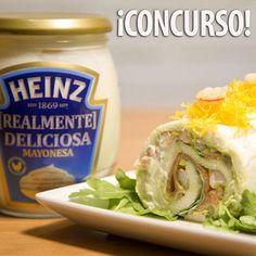 Participa Ya en el Concurso de Mayonesa Heinz y el Ganador recibirá un Chef en casa que le hará un menú con esta deliciosa salsa! ¿Cómo participar? Muy fácil! Solo tienes que dejar aquí un comentario con el hashtag #MAYONESAHEINZ y el plato o receta a la que añadirías la salsa ;) Corre! El día 26 nos podemos en contacto con el ganador!