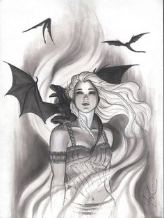 Game of Thrones Daenerys by Protokitty.deviantart.com