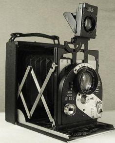 Thin Blue Line: Antique Cameras