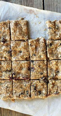 Clean Eating Raw Energy Bars Recipe