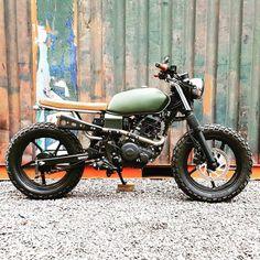 1983 yamaha xs650 brat scrambler bike rides and runs sounds amazing