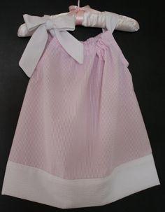 Seersucker Pillowcase Dress for little Girls by SewSouthernLadies, $20.00