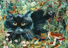 """Black Cat"" par Helena Nelson-Reed"