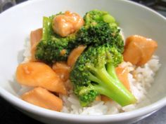 Sophie in the Kitchen: Chinese Chicken and Broccoli Stir Fry