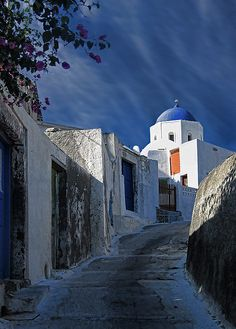 Santorini -  went once - would love to return...