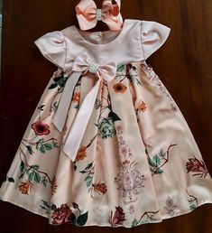 16 trendy Ideas for closet masculino infantil Frock Patterns, Baby Dress Patterns, Baby Girl Party Dresses, Little Girl Dresses, Baby Girl Fashion, Kids Fashion, Couture Bb, Frocks For Girls, Frock Design