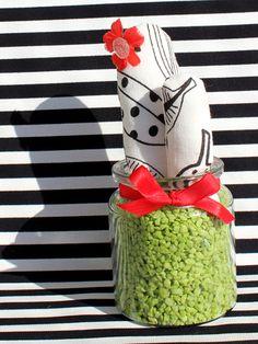 "Stoff Kaktus ""Miss Autumn"""