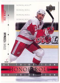 Steve Yzerman # 50 - 2001-02 Upper Deck Honor Roll Hockey