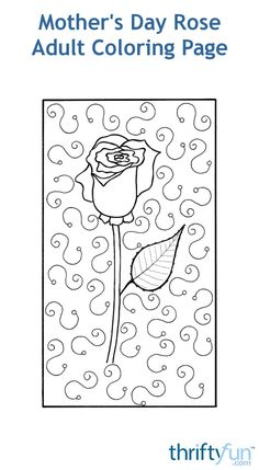 A FREE coloring page to show your mom on Mother's Day just how special she is. Mothers Day Crafts, Free Coloring Pages, Love Her, Decoupage, How To Draw Hands, Symbols, Diy Crafts, Messages, Mom