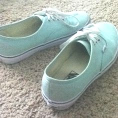 Mint vanz. I want them!