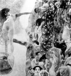 """Medicine"" (Klimt c. 1907; destroyed 1945)"