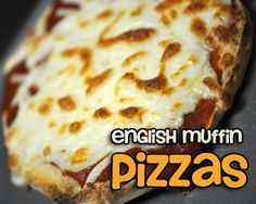 100 Calorie English Muffin Pizzas - 3 WW Points