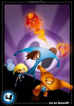 Fantastic FourNice look for Mr Fantastic andthe Human Tourch. Mister Fantastic, Fantastic Four, Artsy, Marvel, My Love, Art Work, Anime, Artwork, Work Of Art