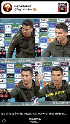 Tom Brady, Cristiano Ronaldo, Drinking Water, Equality, Baseball Cards, Digital, Heineken, Social Equality