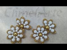 Beading Projects, Beading Tutorials, Hair Bow Tutorial, Beaded Jewelry Patterns, Wire Art, Handmade Accessories, Beaded Flowers, Beaded Embroidery, Jewelry Crafts