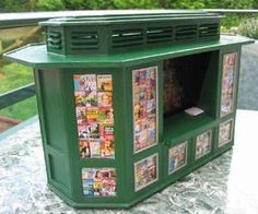 how to: newsagents stall (with printables)