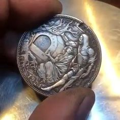 Choses Cool, Drawings For Boyfriend, Cool Gadgets To Buy, Hobo Nickel, Coin Art, Satsuriku No Tenshi, Cool Inventions, Mask Design, Easy Drawings