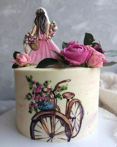 Beautiful Cake Pictures, Beautiful Cakes, Cake Decorating, Food And Drink, Pretty Cakes