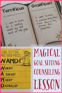 This Magical Wizard Themed Counseling Classroom Guidance Lesson Introduces Students To Effective Goal Setting