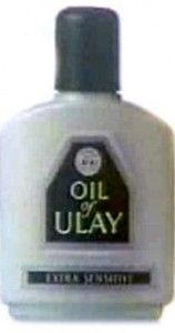 oil of ulay.  The only thing my Mum ever used and I use it too.