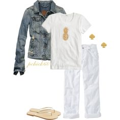 """""""Summer Barbecue OOTN"""" by pchick60 on Polyvore"""