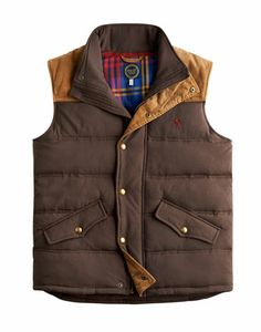 Joules null Mens Vest, Brown.                     We're once again pleased to be welcoming back the Burbank. Made to withstand anything that will come its way, this is quite simply the only Vest you'll ever have to buy. A true Joules classic.