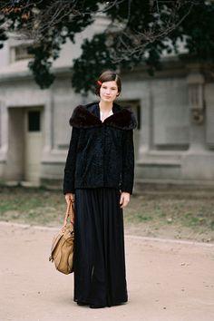 Vanessa Jackman: Paris Fashion Week AW 2012...Ava