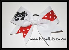 The Cutest Couple Bow Disney Cheer Bows, Cheerleading Cheers, Cute Couples, Give It To Me, Bling, Jewel, Adorable Couples