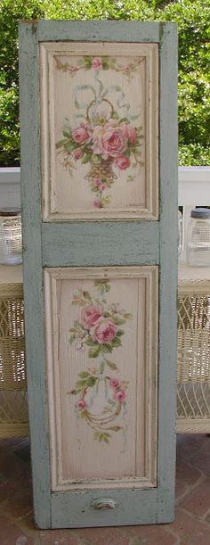 A couple of these would make a great headboard or a beautiful door somewhere. Maybe a front or back door like this.