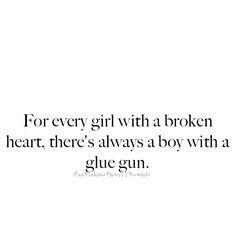 when heartbroken, just think...