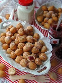 Afrikai puff-puff Winter Food, Fritters, Cake Cookies, Donuts, Cake Recipes, Mad, Muffin, Food And Drink, Sweets