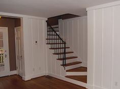 knotty pine painted