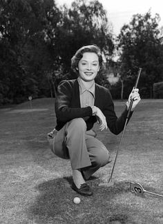 Irresistible Looking Great Ladies Golf Fashion Ideas. Mesmerizing Looking Great Ladies Golf Fashion Ideas. Jane Greer, Sinbad The Sailor, Gloria Dehaven, Vintage Golf, Golf Fashion, Fashion Men, Fashion Ideas, Golf Outfit, Ladies Golf