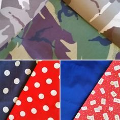Some more new fabrics waiting to be made into bandanas