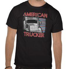 American Trucking T Shirts