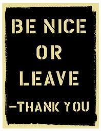 be nice - Pesquisa do Google