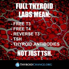 If and endo will not than an Obgyn will. These are vital for diagnosing thyroid issues. The tsh alone is INACCURATE, for a variety of reasons.